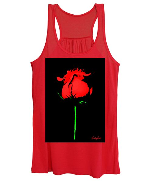 Splash Of Ink Women's Tank Top