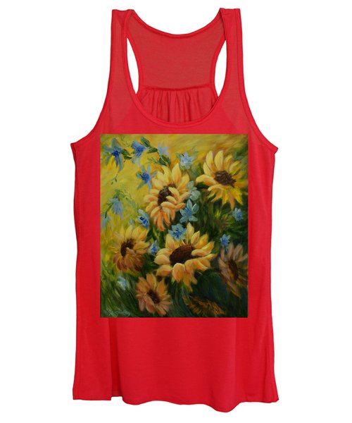 Sunflowers Galore Women's Tank Top