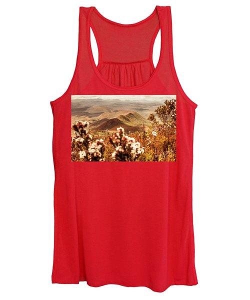 Spring Mountain Blossoms Women's Tank Top