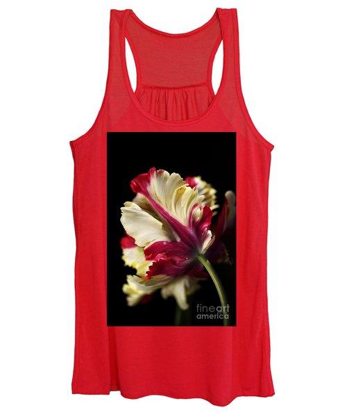 Spring Parrot Tulip Women's Tank Top