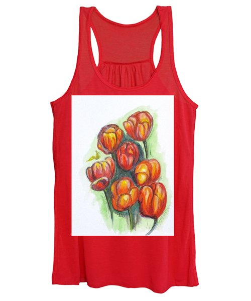Spring Tulips Women's Tank Top