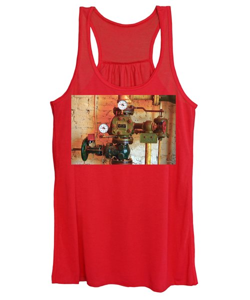 A Spinkle In Time Sprinkler Guages Women's Tank Top