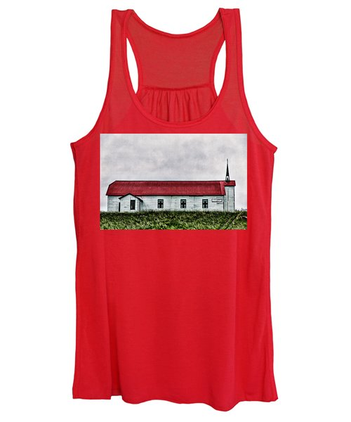 St. Mary Church, Babb, Mt Women's Tank Top