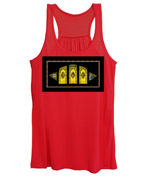 Stained Glass Women's Tank Top