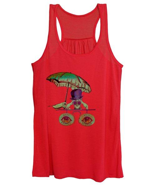Steampunk T Shirt Design Women's Tank Top