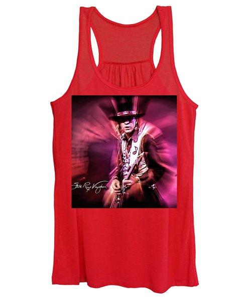 Stevie Ray Vaughan - Crossfire Women's Tank Top