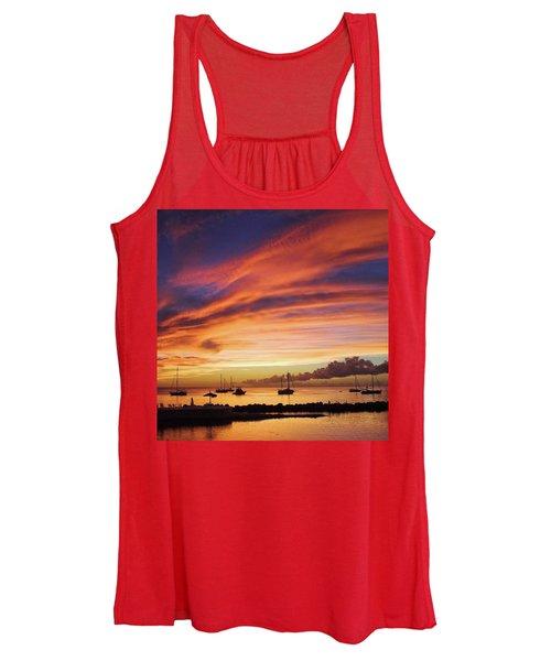 Store Bay, Tobago At Sunset #view Women's Tank Top