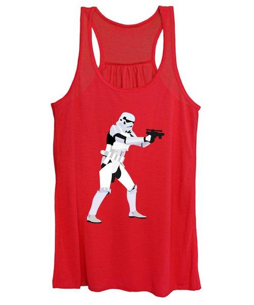 Stormtrooper Star Wars Character Quotes Poster Women's Tank Top