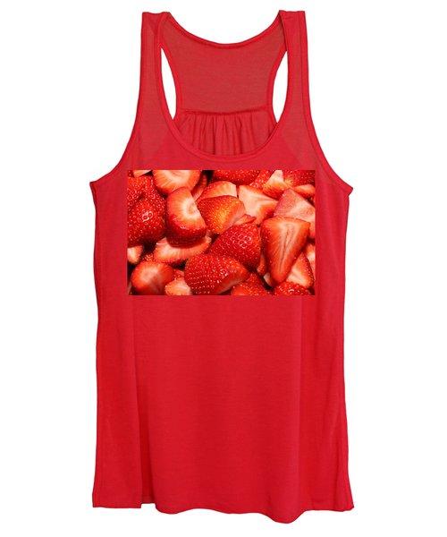 Strawberries 32 Women's Tank Top