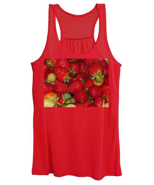 Strawberries 731 Women's Tank Top