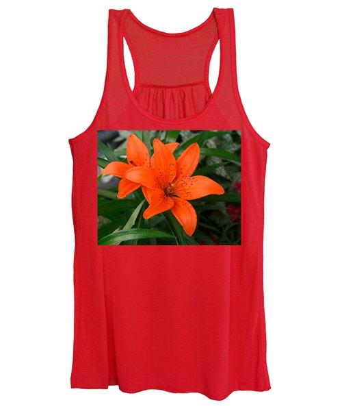 Summer Flower Women's Tank Top