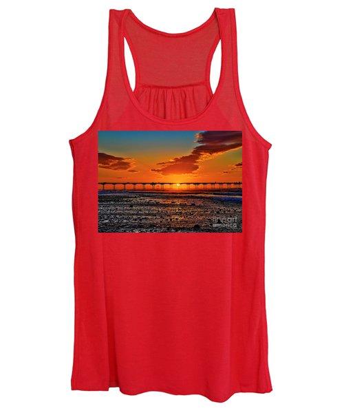 Summer Solstice Sunset Women's Tank Top