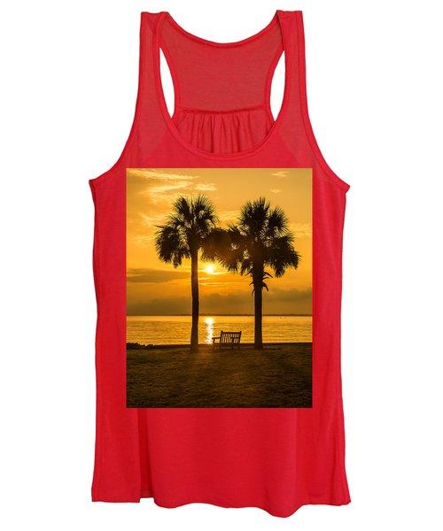 Summer Sunrise - Charleston Sc Women's Tank Top