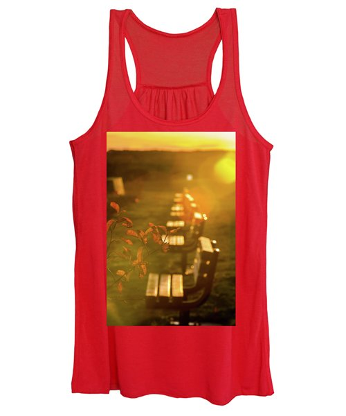 Sun Drenched Bench Women's Tank Top