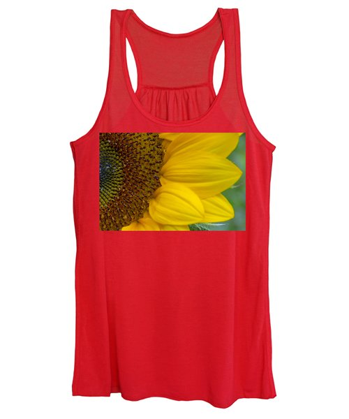Sunflower Closeup Women's Tank Top