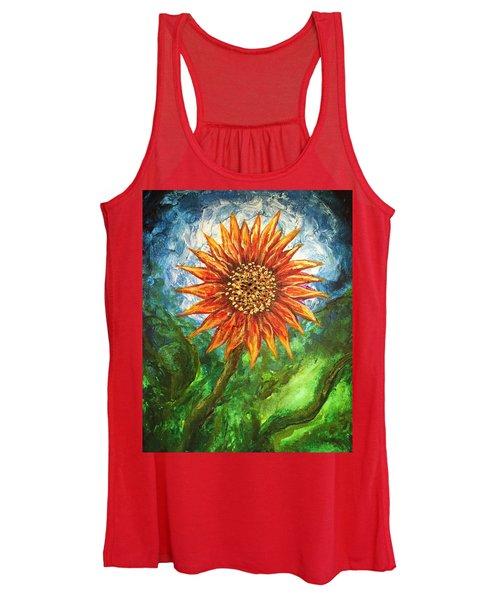 Sunflower Joy Women's Tank Top