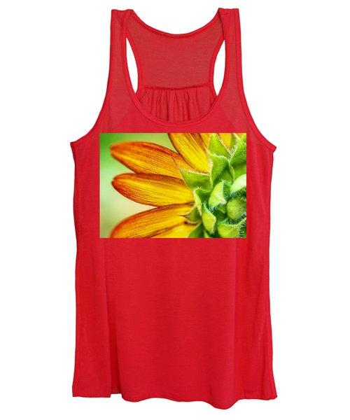 Sunflower Macro 1 Women's Tank Top