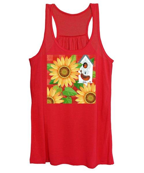 Sunflower Surprise Women's Tank Top