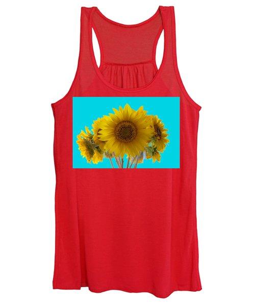 Sunflowers Replacing The Sun Women's Tank Top