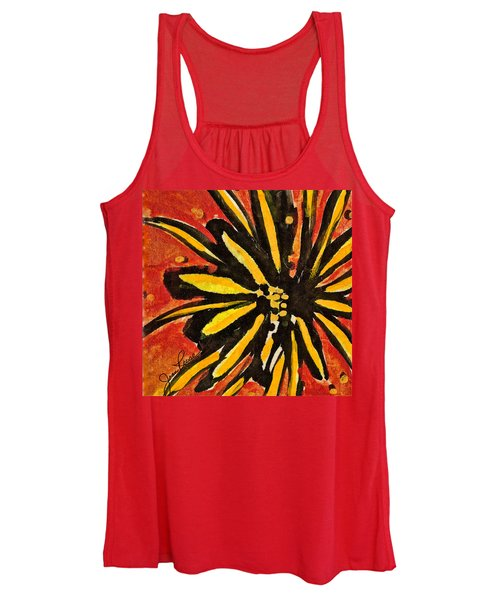 Sunny Hues Watercolor Women's Tank Top