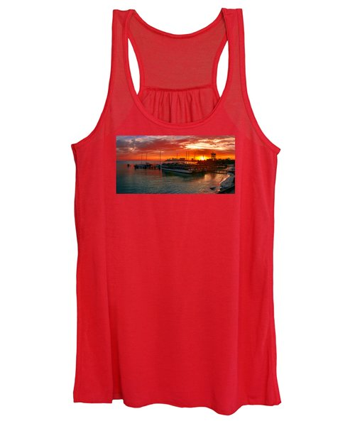 Sunrise In Cancun Women's Tank Top