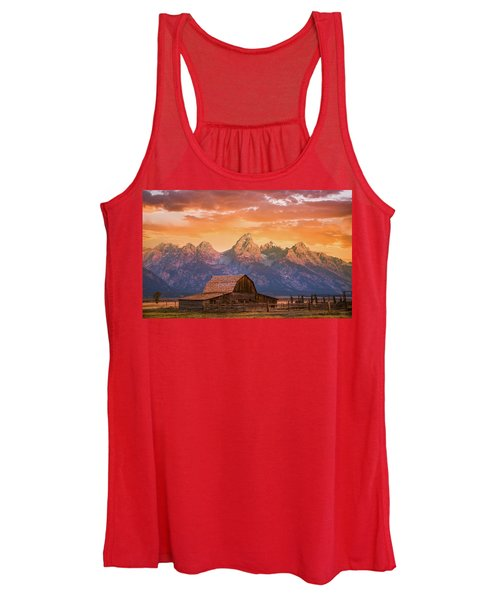 Sunrise On The Ranch Women's Tank Top