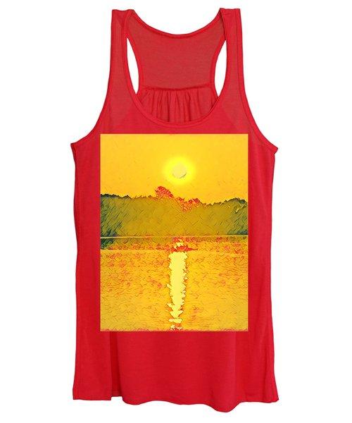 Sunrise On Town Lake Women's Tank Top