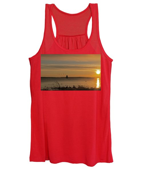 Sunrise Over New Bedford Women's Tank Top