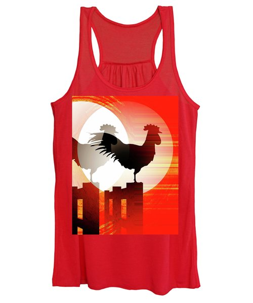 Sunrise Reflection Women's Tank Top