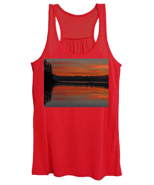 Sunset At Brothers Islands Women's Tank Top
