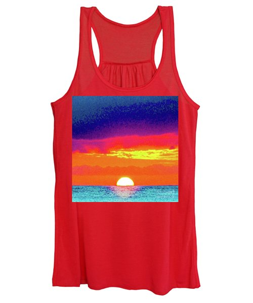 Sunset In Abstract 500 Women's Tank Top