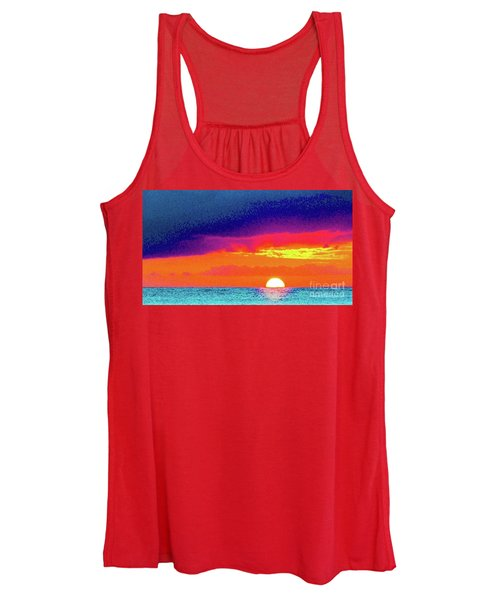 Sunset In Abstract  Women's Tank Top