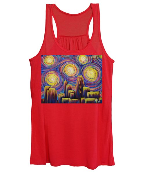 Sunset Over Raleigh Women's Tank Top