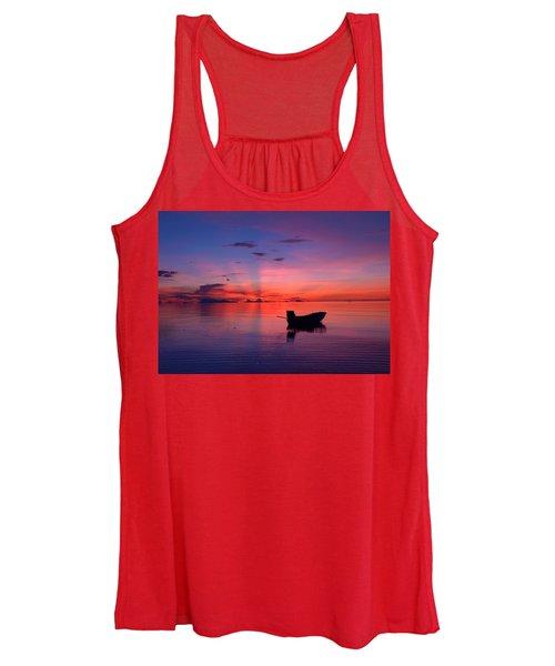 Sunset Rays Women's Tank Top