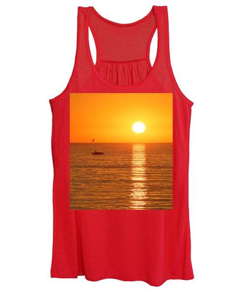 Sunset Solitude Women's Tank Top