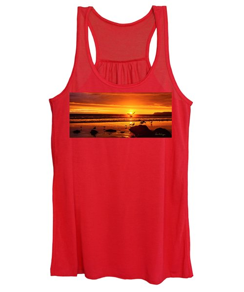 Sunset Surprise Pano Women's Tank Top