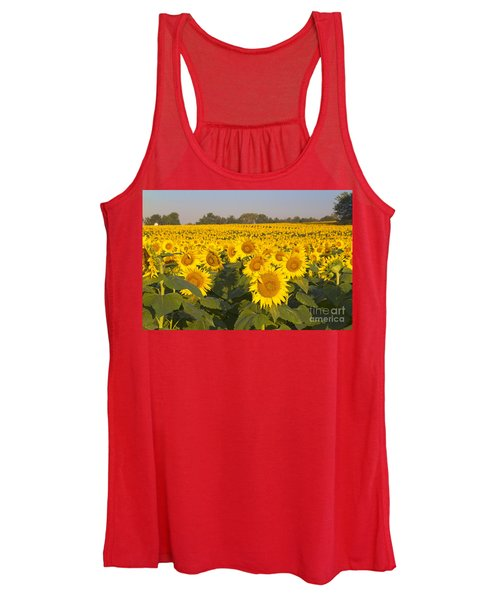 Sunshine Flower Field Women's Tank Top