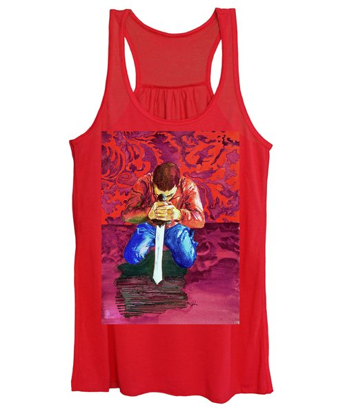 Swords On The Playground Women's Tank Top