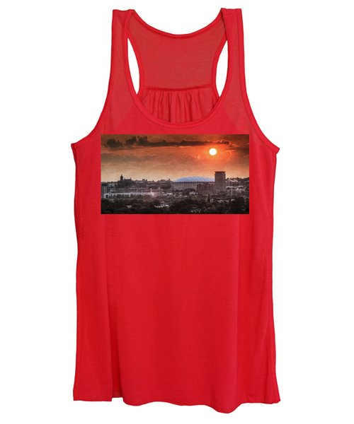 Syracuse Sunrise Over The Dome Women's Tank Top