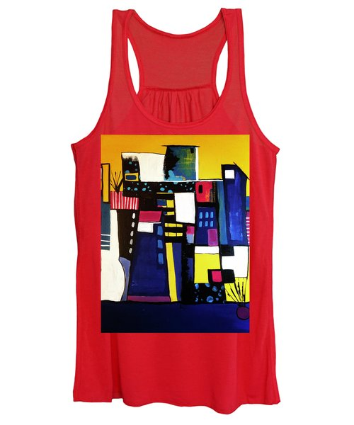 Take The Stairs Women's Tank Top