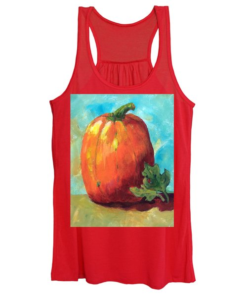 Tall Pumpkin Women's Tank Top