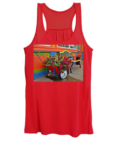 Tannersville Color Blast Women's Tank Top