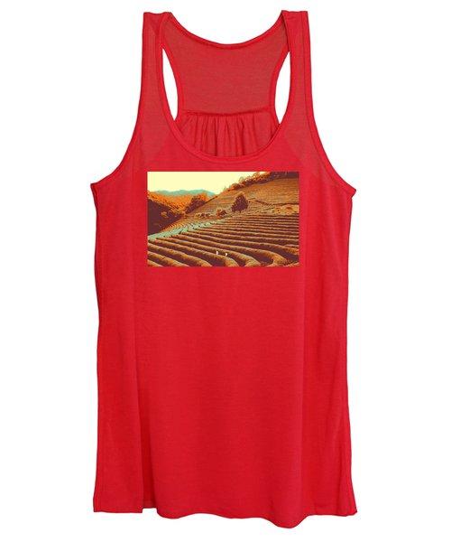 Tea Field Women's Tank Top