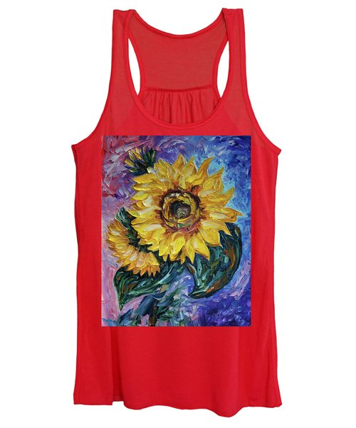 That Sunflower From The Sunflower State Women's Tank Top