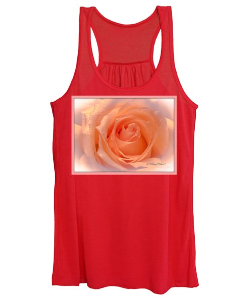 The  Beauty Of A Rose  Copyright Mary Lee Parker 17,  Women's Tank Top