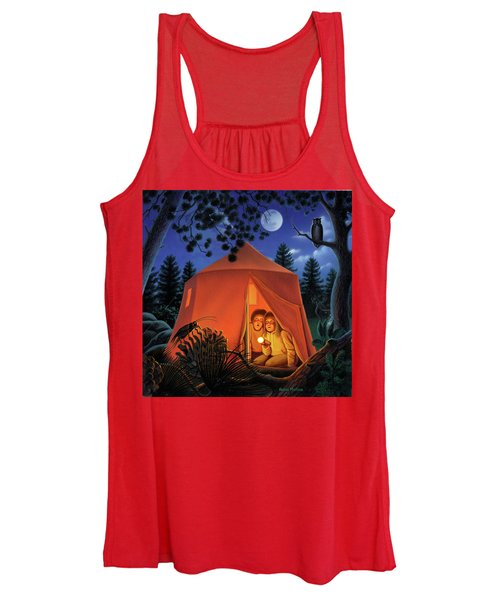 The Campout Women's Tank Top