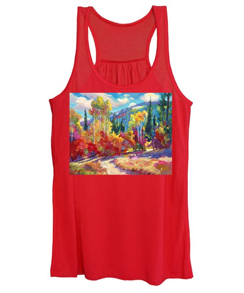 The Colors Of New Hampshire Women's Tank Top