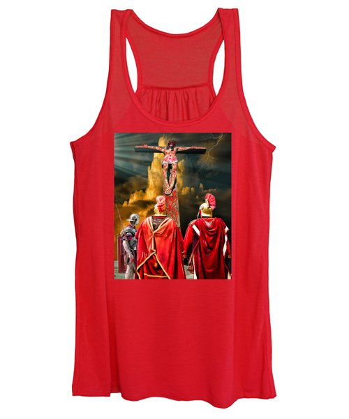 The Crucifixion Women's Tank Top