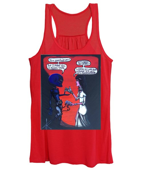 The Downside Of Time Travel Women's Tank Top