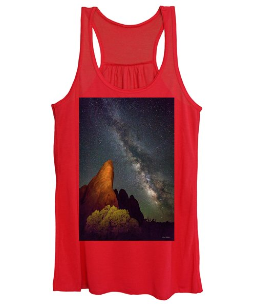 The Fins At Sand Dune Arch Women's Tank Top
